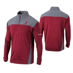 Alabama Crimson Tide Crimson Omni-Wick Standard Quarter-Zip Jacket