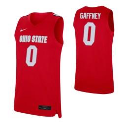 Women's Alonzo Gaffney Authentic College Basketball Jersey Scarlet Ohio State Buckeyes
