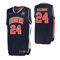 Anfernee McLemore Auburn Tigers Navy 2019 Final Four Authentic College Basketball Jersey