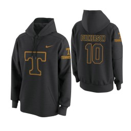 Tennessee Volunteers #10 John Fulkerson Men's Anthracite College Basketball Hoodie