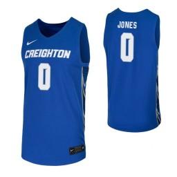 Youth Creighton Bluejays #0 Antwann Jones Royal Authentic College Basketball Jersey