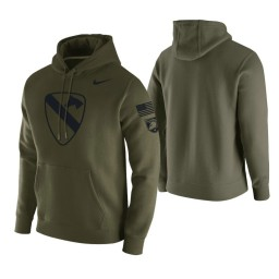 Army Black Knights Green 1st Cavalry Division Hoodie