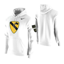 Army Black Knights White 1st Cavalry Division Hoodie