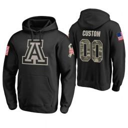 Alabama Crimson Tide #00 Custom Men's Black College Basketball Hoodie