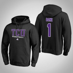 TCU Horned Frogs #1 Desmond Bane Men's Black College Basketball Hoodie