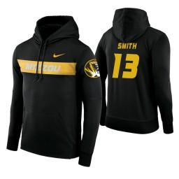 Missouri Tigers #13 Mark Smith Men's Black Pullover Hoodie