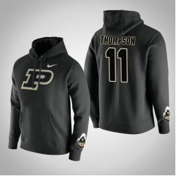 Purdue Boilermakers #11 P.J. Thompson Men's Black Pullover Hoodie