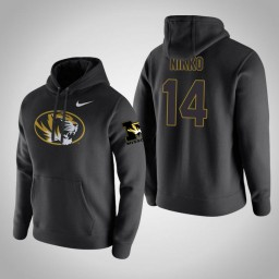 Missouri Tigers #14 Reed Nikko Men's Black Pullover Hoodie