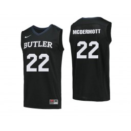 Youth Butler Bulldogs #22 Sean McDermott Authentic College Basketball Jersey Black