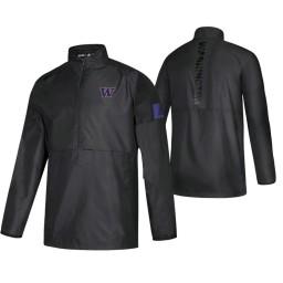 Washington Huskies Black 2019 Sideline Game Mode Jacket