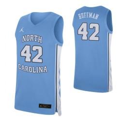 Brandon Huffman North Carolina Tar Heels Carolina Blue Authentic College Basketball Jersey