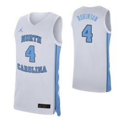 Brandon Robinson North Carolina Tar Heels White Authentic College Basketball Jersey