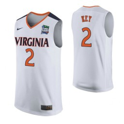 Youth Braxton Key Virginia Cavaliers White 2019 Final Four Authentic College Basketball Jersey