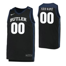 Butler Bulldogs Replica Custom Jersey Black