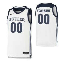 Butler Bulldogs Replica Custom Jersey White