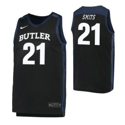 Youth Butler Bulldogs #21 Derrik Smits Black Authentic College Basketball Jersey