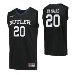 Youth Butler Bulldogs #20 Gordon Hayward Authentic College Basketball Jersey Navy