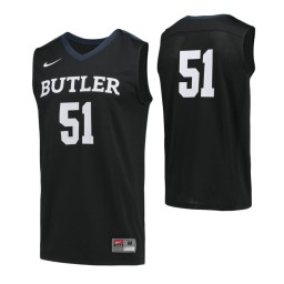 Butler Bulldogs #51 Authentic College Basketball Jersey Navy Blue