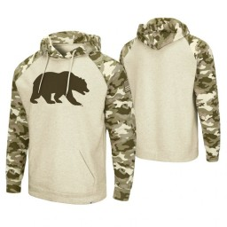 Cal Bears Oatmeal OHT Military Appreciation Desert Camo Hoodie