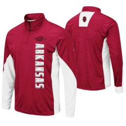 Arkansas Razorbacks Cardinal Bart Windshirt Pullover Jacket