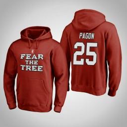 Stanford Cardinal #25 Blake Pagon Men's Cardinal Team Hometown Collection Pullover Hoodie