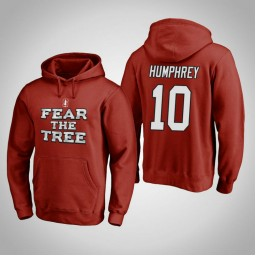 Stanford Cardinal #10 Michael Humphrey Men's Cardinal Team Hometown Collection Pullover Hoodie