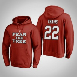 Stanford Cardinal #22 Reid Travis Men's Cardinal Team Hometown Collection Pullover Hoodie