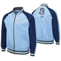 North Carolina Tar Heels Carolina Blue Kent Full-Zip Bomber Jacket