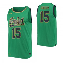 Chris Doherty Authentic College Basketball Jersey Kelly Green Notre Dame Fighting Irish