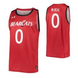 Chris McNeal Authentic College Basketball Jersey Red Cincinnati Bearcats