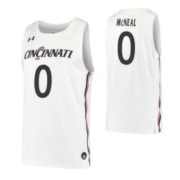Chris McNeal Authentic College Basketball Jersey White Cincinnati Bearcats