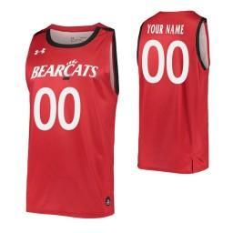 Cincinnati Bearcats Replica Custom Jersey Red