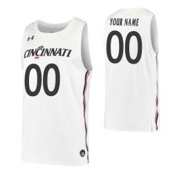 Cincinnati Bearcats Replica Custom Jersey White