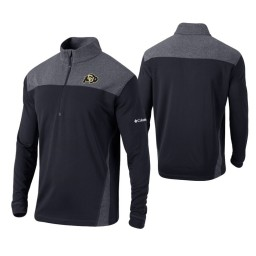 Colorado Buffaloes Black Omni-Wick Standard Quarter-Zip Jacket