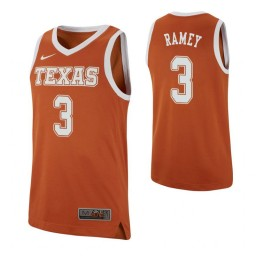 Youth Courtney Ramey Authentic College Basketball Jersey Texas Orange Texas Longhorns