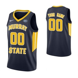 Men's Murray State Racers Custom College Basketball Authentic Jersey Navy