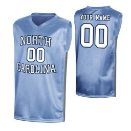 Men's North Carolina Tar Heels Custom College Basketball March Madness Jersey Royal