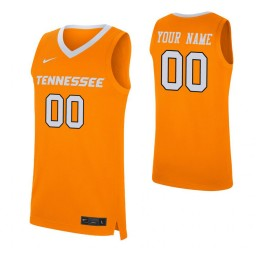 Tennessee Volunteers Custom Replica Jersey Orange