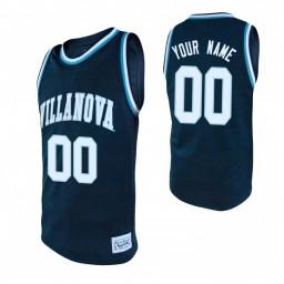 Villanova Wildcats 00 Custom College Basketball Alumni Jersey Navy
