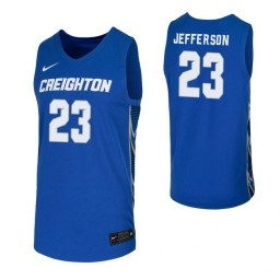 Youth Creighton Bluejays #23 Damien Jefferson Royal Authentic College Basketball Jersey