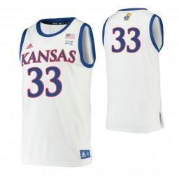 Youth David McCormack Kansas Jayhawks White Authentic College Basketball Jersey