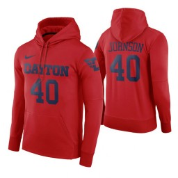 Dayton Flyers Chase Johnson Red Road Hoodie