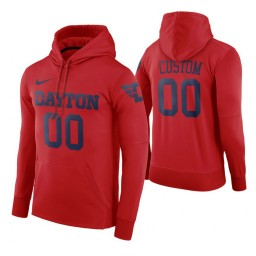 Dayton Flyers Custom Red Road Hoodie