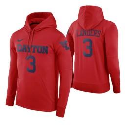 Dayton Flyers Trey Landers Red Road Hoodie