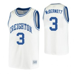 Youth Creighton Bluejays #3 Doug McDermott White Authentic College Basketball Jersey