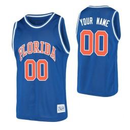 Florida Gators Custom Basketball Alumni Jersey Royal