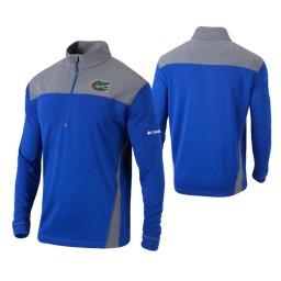 Florida Gators Royal Omni-Wick Standard Quarter-Zip Jacket