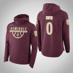 Florida State Seminoles #0 Phil Cofer Men's Garnet Elite College Basketball Hoodie