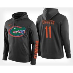 Florida Gators #11 Chris Chiozza Black Hoodie College Basketball
