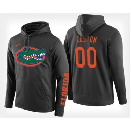 Florida Gators #00 Custom Black Hoodie College Basketball